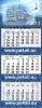 Квартальный календарь в три пружины (три рекламных места)